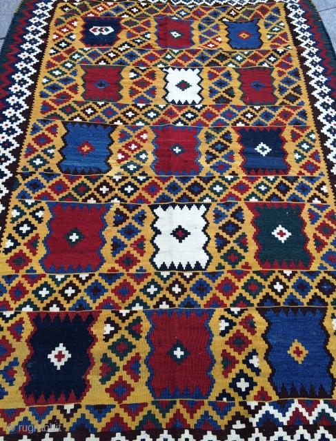 Qashkai kilim size 258x160cm