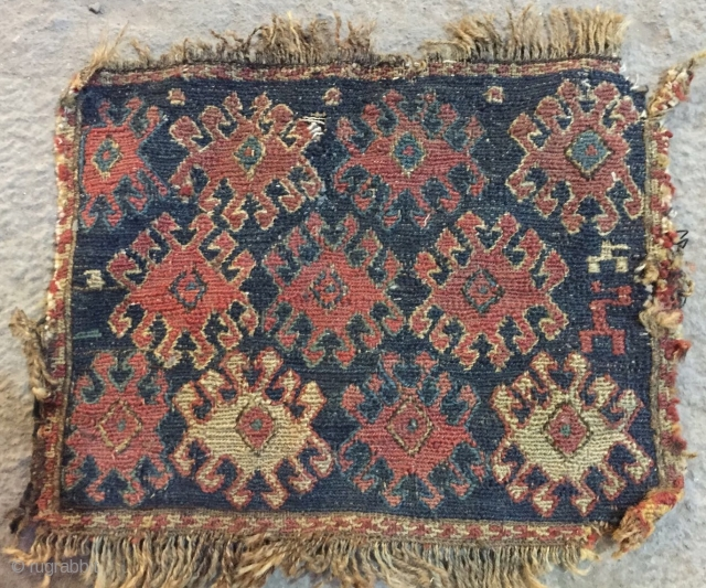 Very old Shahsavan bag size 20x25 cm