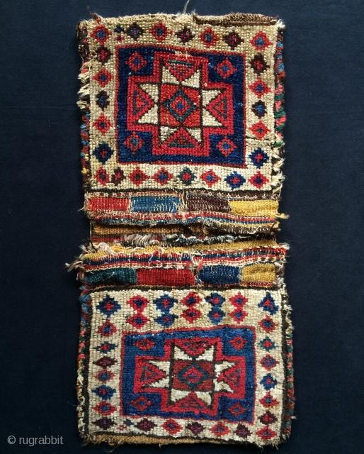 Shahsavan Kurdish saddle bag size 54x28cm