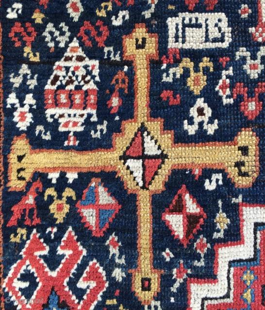Shiraz runner carpet size 354x105cm