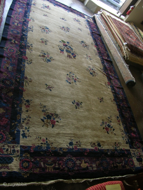10X20 Chinese Rug 1900's nice condition more photos available