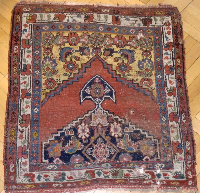 Anatolian or N/W tribal fragment. 125/106 cm. 19th C.