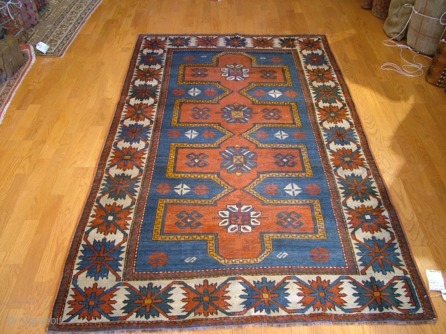 Caucasian rug Genje District late 19th century