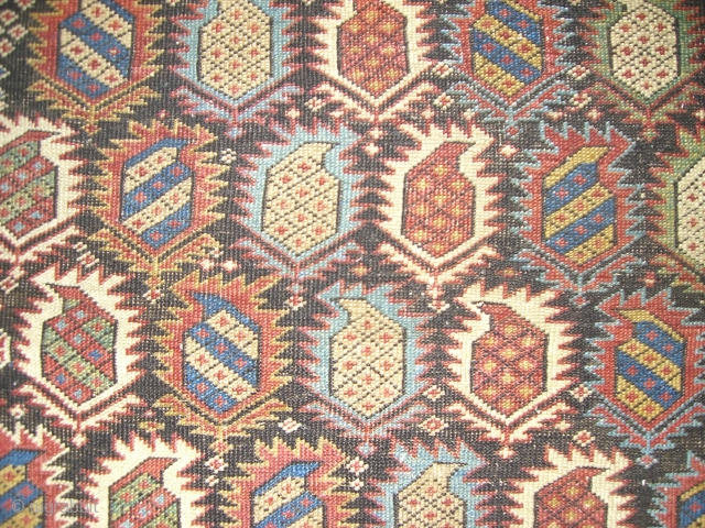 Antique Shirvan Marasali finely woven .(SOLD)
