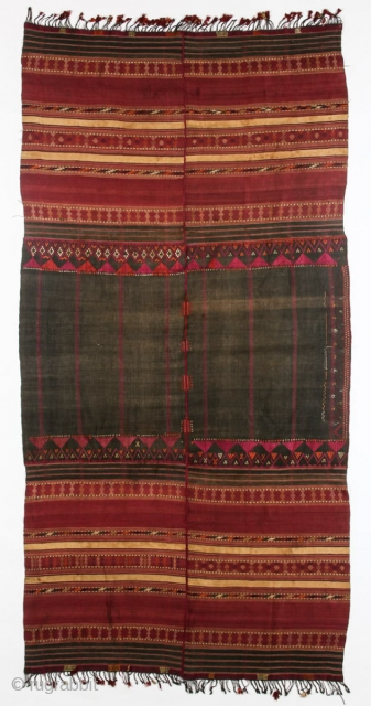 Gorgeous Waziri Shawl with rare embroidery.