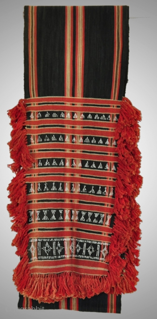 GORGEOUS Hilltribe Body Cloth - Beaded Weaving. More details on