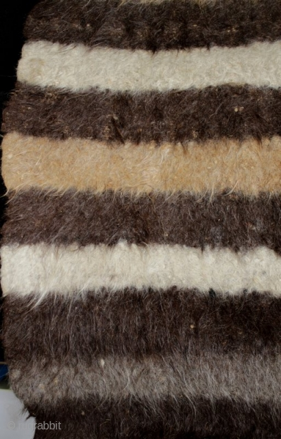 A huge old Bulgarian kozak felted wool sleeping rug. This is the largest kozak I came across on a recent trip to the mountain villages of south and central Bulgaria. It was  ...