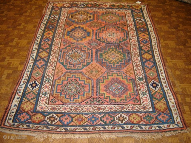 Antique Kurdish 4,2 x 6,6