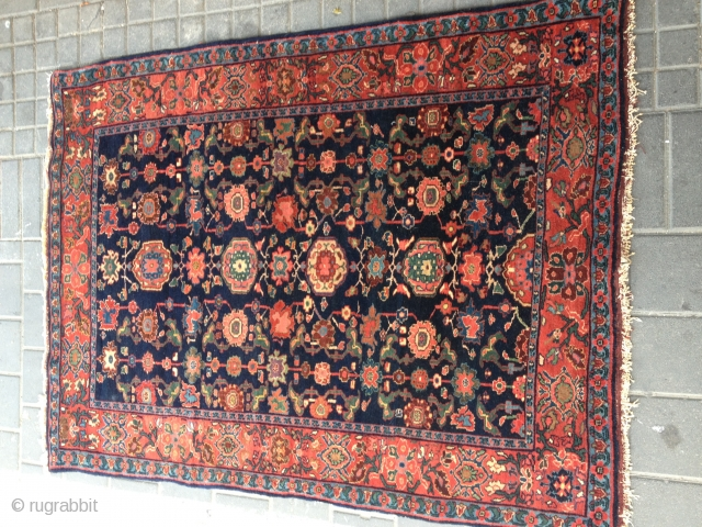 mint codition antiqe bijar late 19ch.very fine 110/145cm soper colors original suomak on haeds