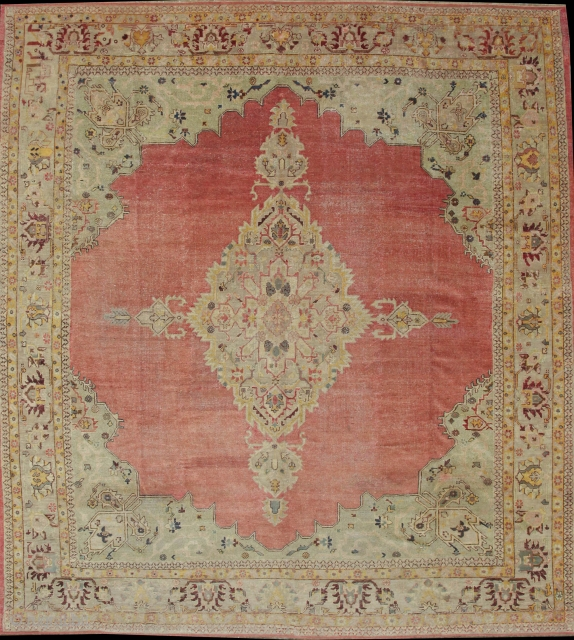 Fine Antique Anatolian Usak Rug.