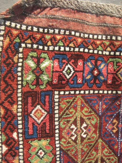 Kurdish rug from Khorassan (223cmX114cm / 7,32'x3,74') .