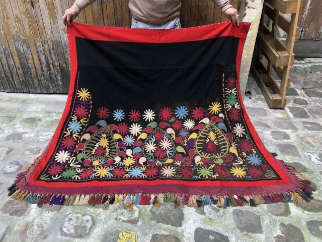 A Beautiful Lakai Horse cover from Uzbekistan