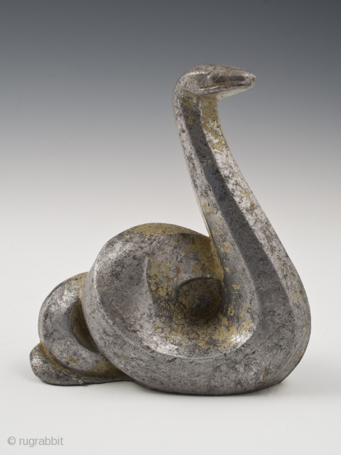 Snake okimono, Japan.