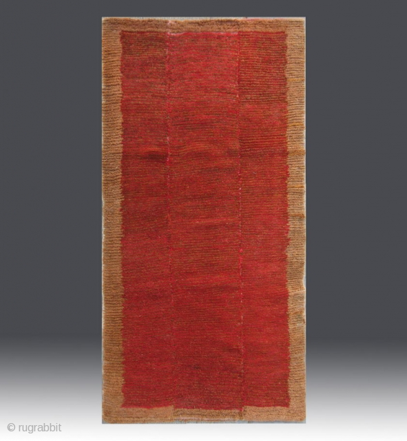 "No.A0014 * Tibetan Antique Khaden Rug.Age: Early-20th Century. Size: 81x155cm(32""x61""). Origin: Tibet Shape: Rectangle . Background Color:Reds.wool/wool."