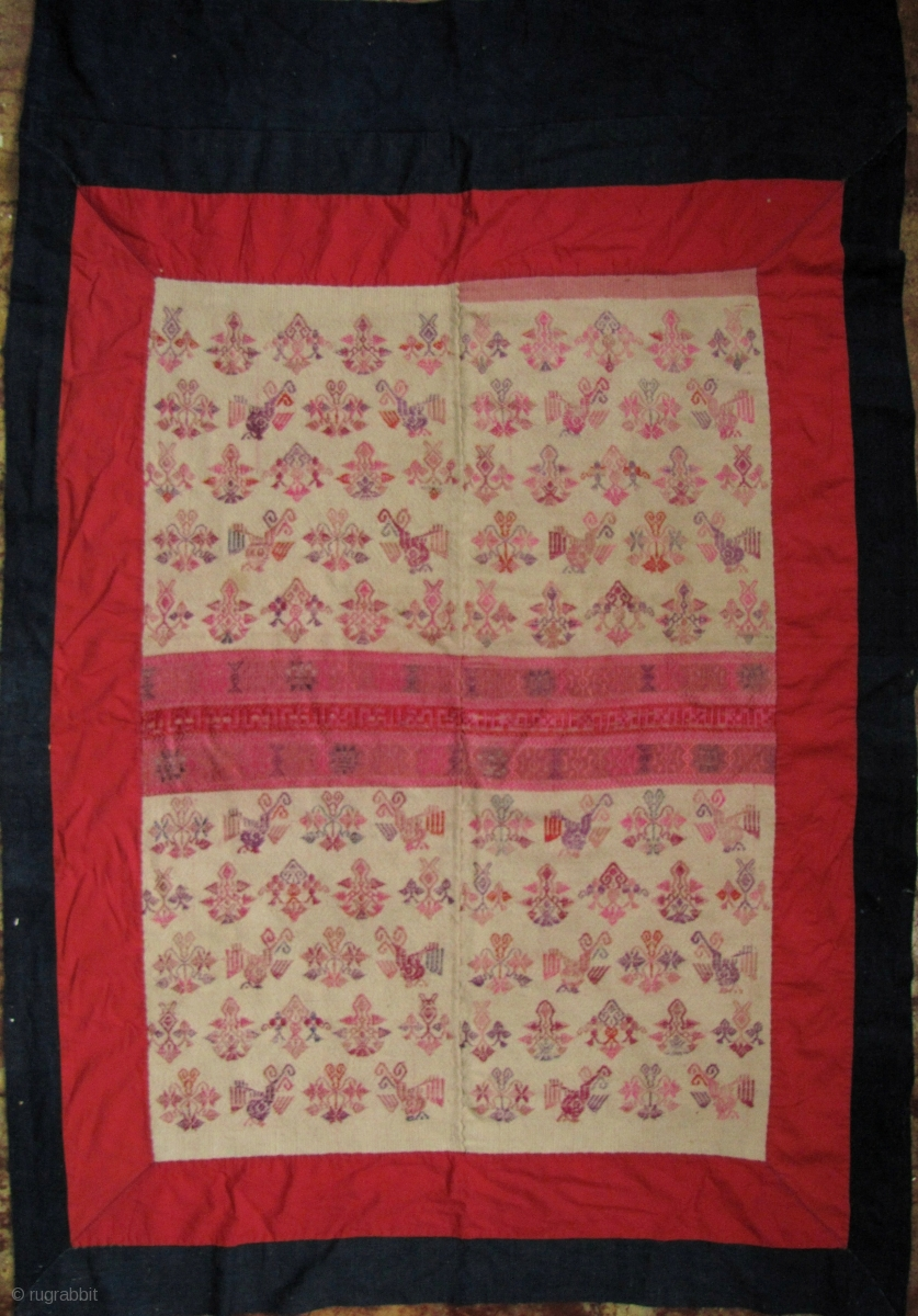 Maonan Wedding Blanket Fine Old All Hand Spun And Hand