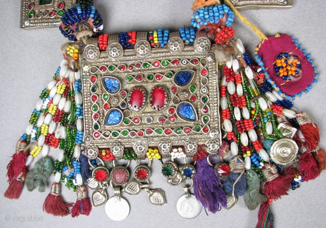 Lot Of Old Quot Koochi Quot Pashtun Jewelry From The Afghan