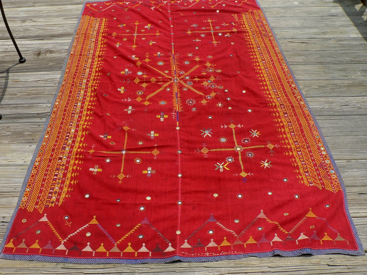 Antique Indian Wedding Shawl This Is An Antique