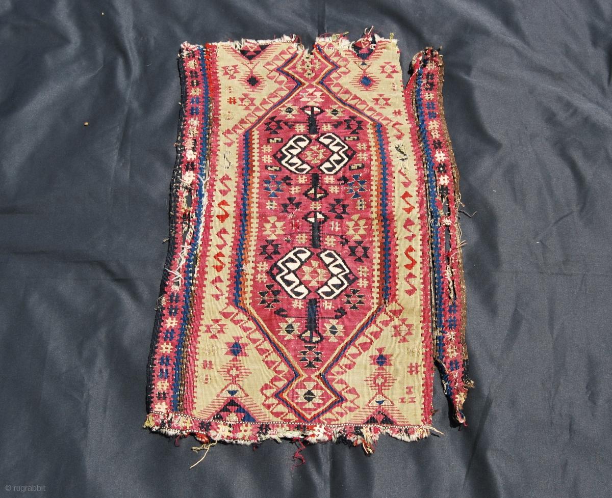 Yastik Kilim Fragment From Malatya Eastern Turkey