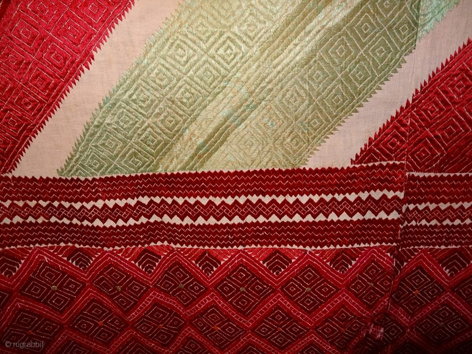 phulkari from westpakistanpunjabindiaknown as wedding