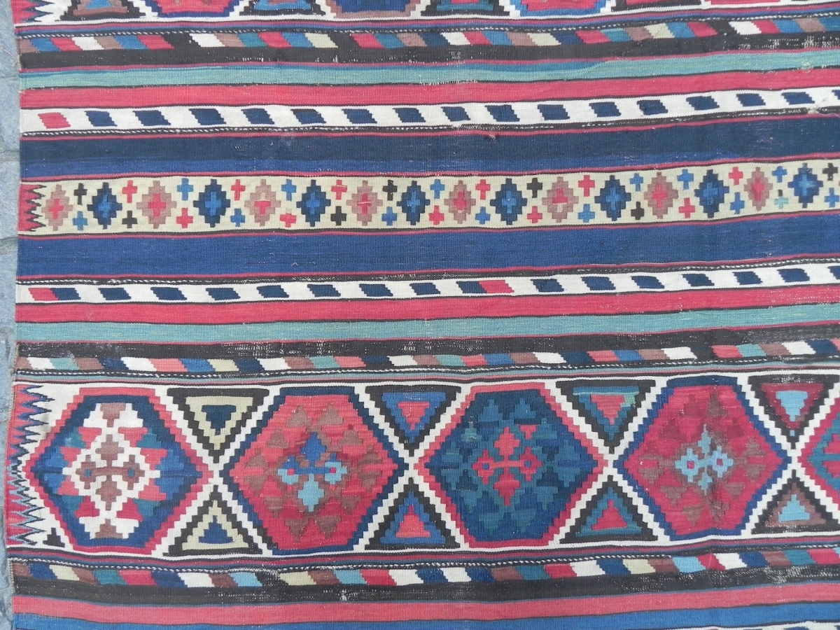 Antique Caucasian Shirvan Kilim Rug 10 5 X 6 Ft 320x183
