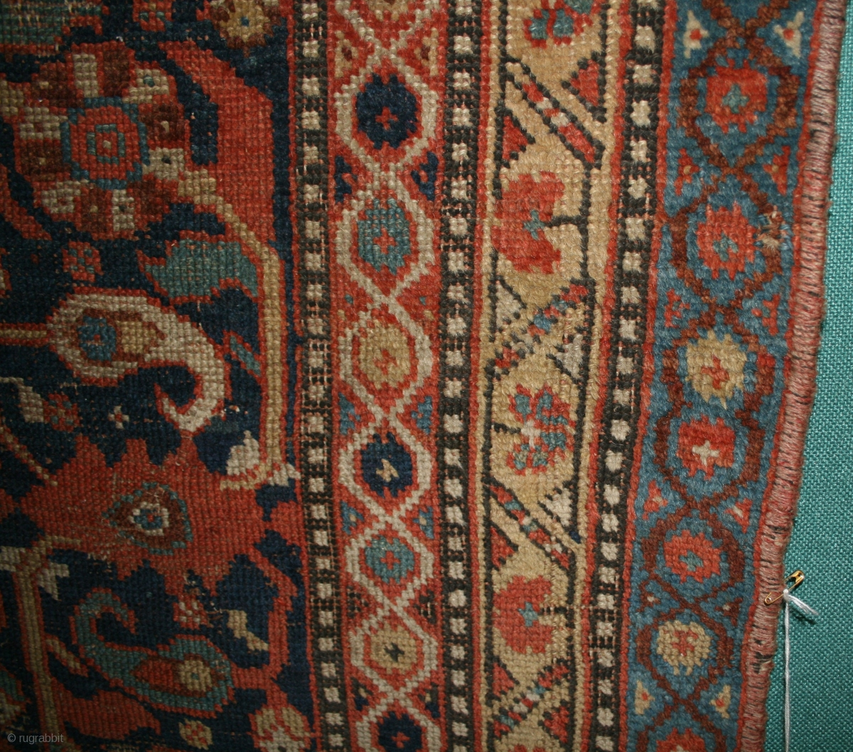 Persian Tribal Rugs: South Persian Tribal Rug, Sec. Half 19th Century, Some