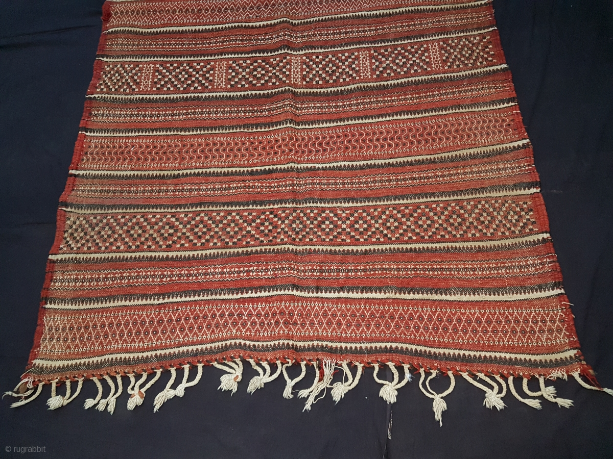 Vintage Authentic Hand Woven Veg Dye Village Woolen