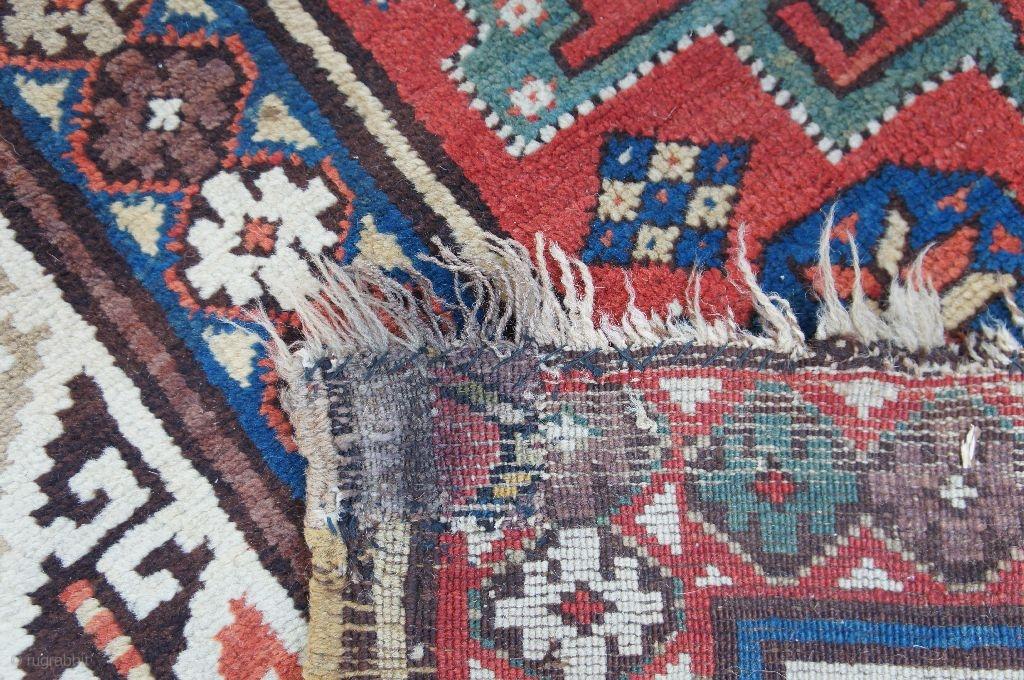 Antique Derbend Carpet Ca 1875 4 10 Quot X 9 10 Quot With A