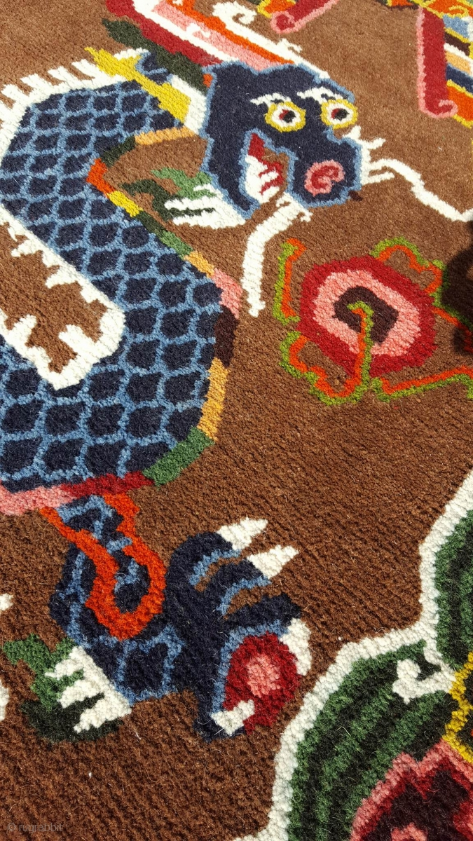 This Unique Carpet Was Specially Spun During The Footok