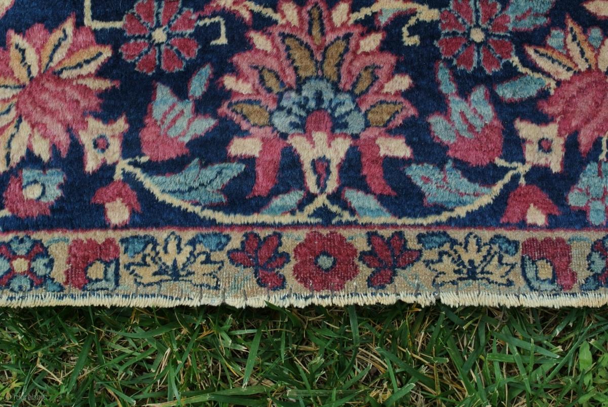 antique persian rug kerman lavar vase design 1875 company tafshandjian hand knotted antique. Black Bedroom Furniture Sets. Home Design Ideas