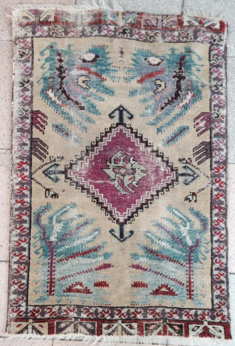 December Sale An Anatolian Yastik Size 86x60cm
