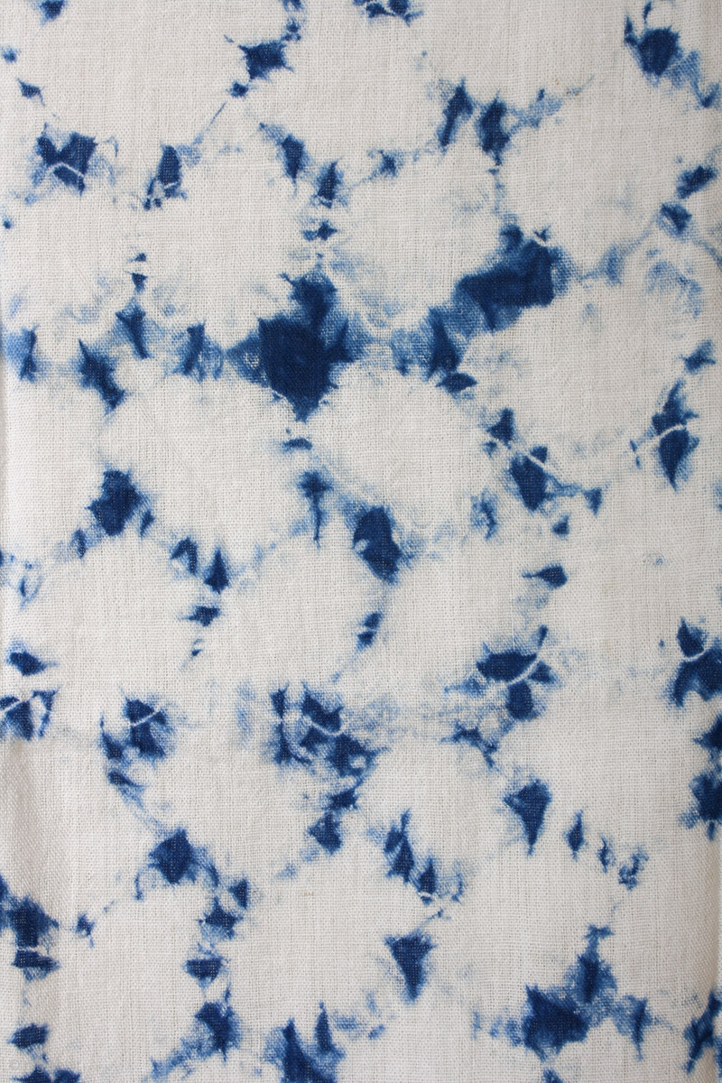 This A Large Swath Of Japanese Shibori Cotton Shibori Is