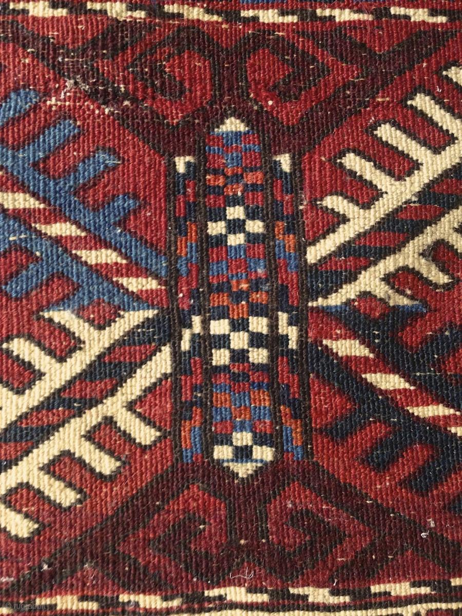 Turkmen Quot Turreted Quot Pendi G 246 L Rug 100x150cm Soft Wool