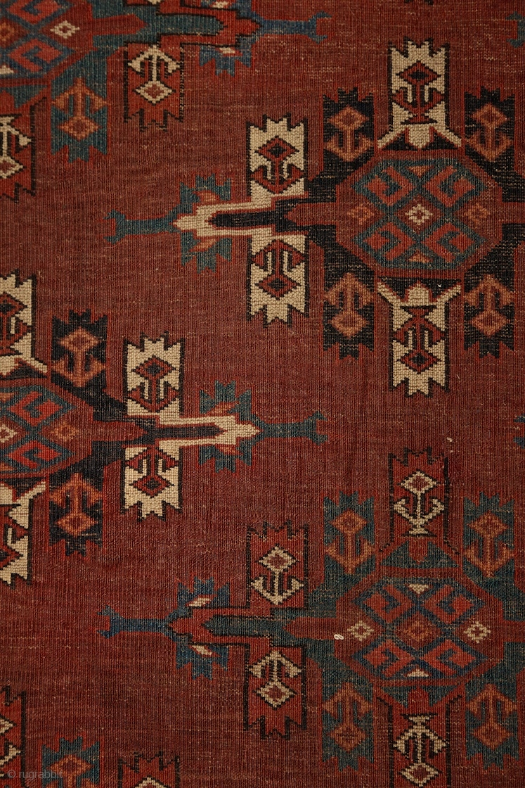 Yomud Quot Kepse Quot Main Carpet At Least Mid 19th Century