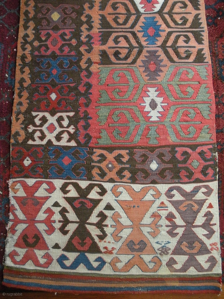 Early Anatolian Large Kilim Panel I Think Konya