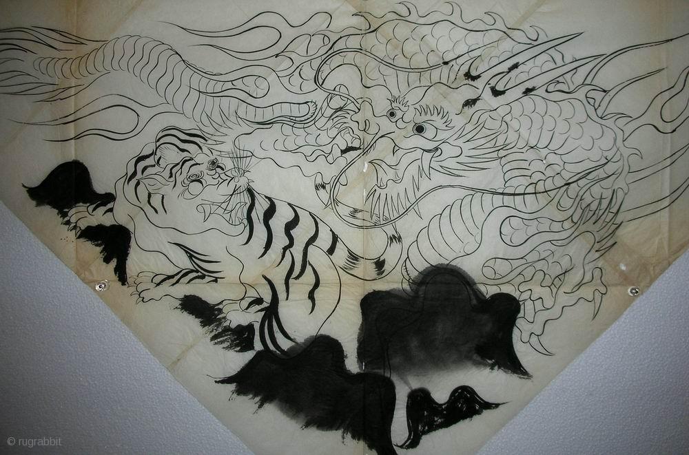 Crouching Tiger Hidden Dragon Uchishiki Drawing Japan