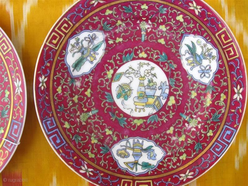 An Antique 19th Century Russian Gardner Porcelain Pair