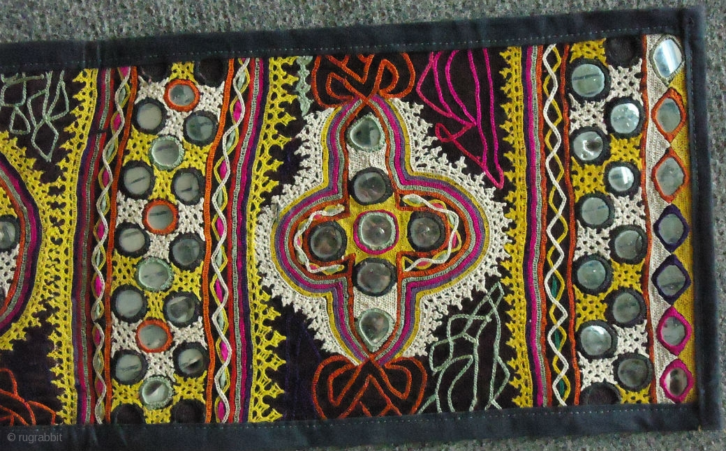 This Is A Traditional Embroidery From Kutch India And