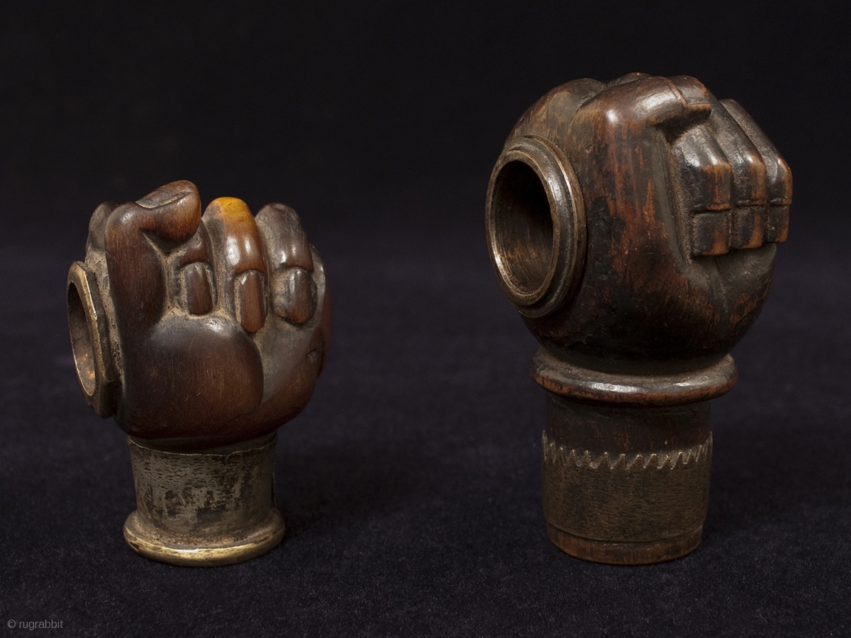 Opium Pipe Bowls Yunnan Province Southwest China 19th