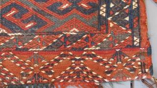 Yomut soumac storage bag 86cm x 46cm $400 plus shipping. www.aaronnejad.com