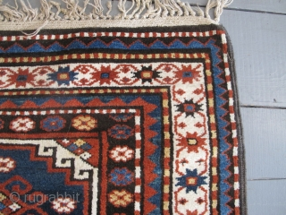Karabagh Rug with Memling Guls, circa 1880, 2.50m x 1.50m, excellent condition.