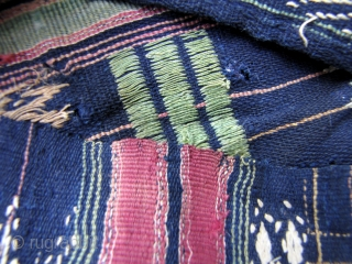 Dai Wedding Blanket  Rare antique two paneled bed cover from the Daizu ethnic minority of Southern Yunnan, China, only the second in this style of weaving from this group I have ever seen.  ...