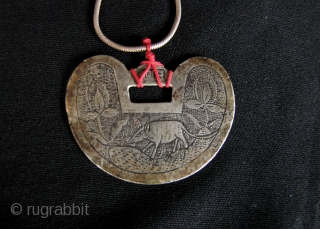 Very rare (no one I know has seen one before), silver amulet with a rat (definitely not a mouse). 2020 is the Chinese Lunar Calendar for the Metal Rat so this being  ...