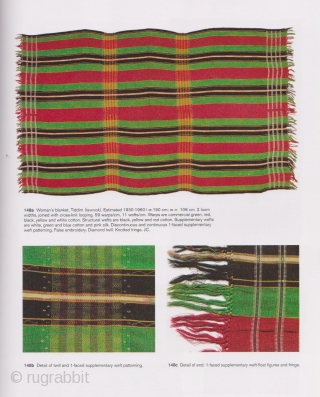 Tiddim Woman's Blanket:  Unique and rare Zo/Tedem blanket. The Tedum aka Tiddim are a subgroup of the Chin, who live in Northern Burma, Chin State, bordering India. This piece is circa  ...