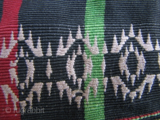 Naga Blanket with Cowrie Shells: 