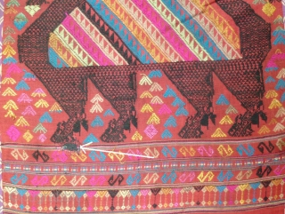 Tai Daeng Door Curtain: Special offer -reduced from $220 to $120. Classic semi antique Laotian textile from the Tai Daeng ethnic group. This was acquired in 1991, just when Lao was opening  ...
