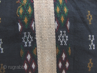 Chin Men's Blanket: Men's tunic from the Chin ethnic group, most likely from the Hakha Township, Chin State, Myanmar. I purchased this in the 1990s and was made in the 80s or  ...