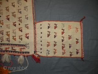 Horse-blanket: Qashqai,South Iran.Size: 152x140cm