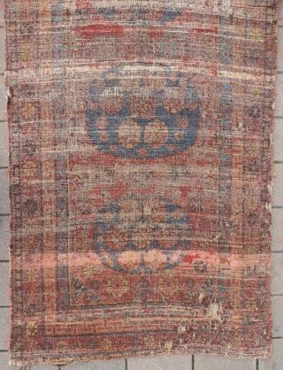 Khotan carpet, 122 x 225 cm