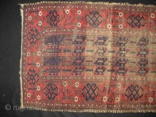 Antique Baluch rug 80 x 124cm