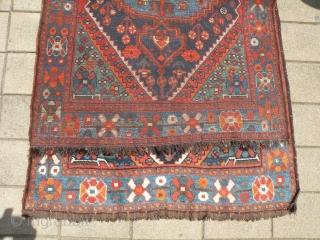 Persian Kurdish rug 118x186 cm